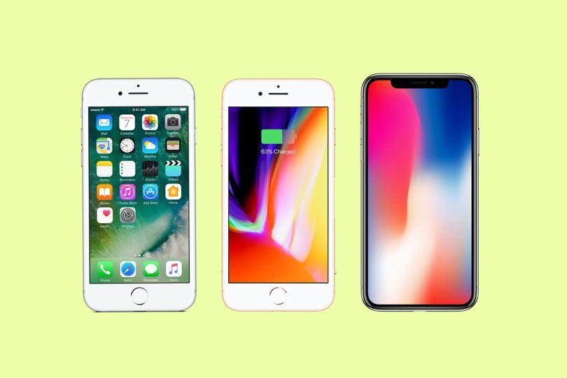 iPhone X, iPhone 8 ou iPhone 7: lequel choisir ?