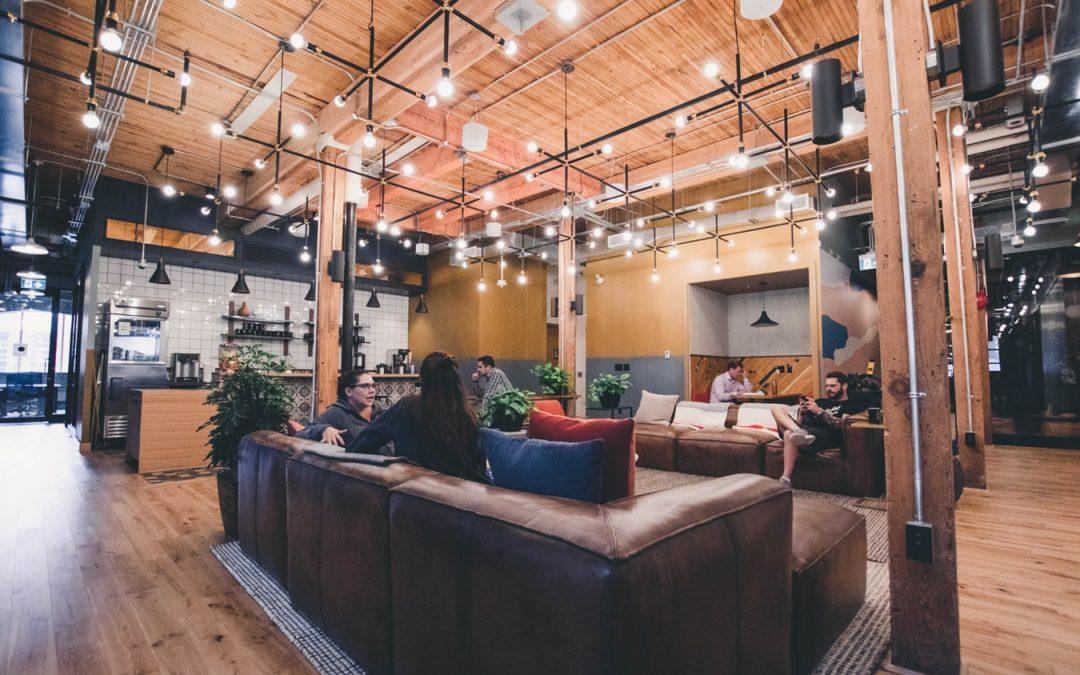 La montée en flèche des espaces de coworking