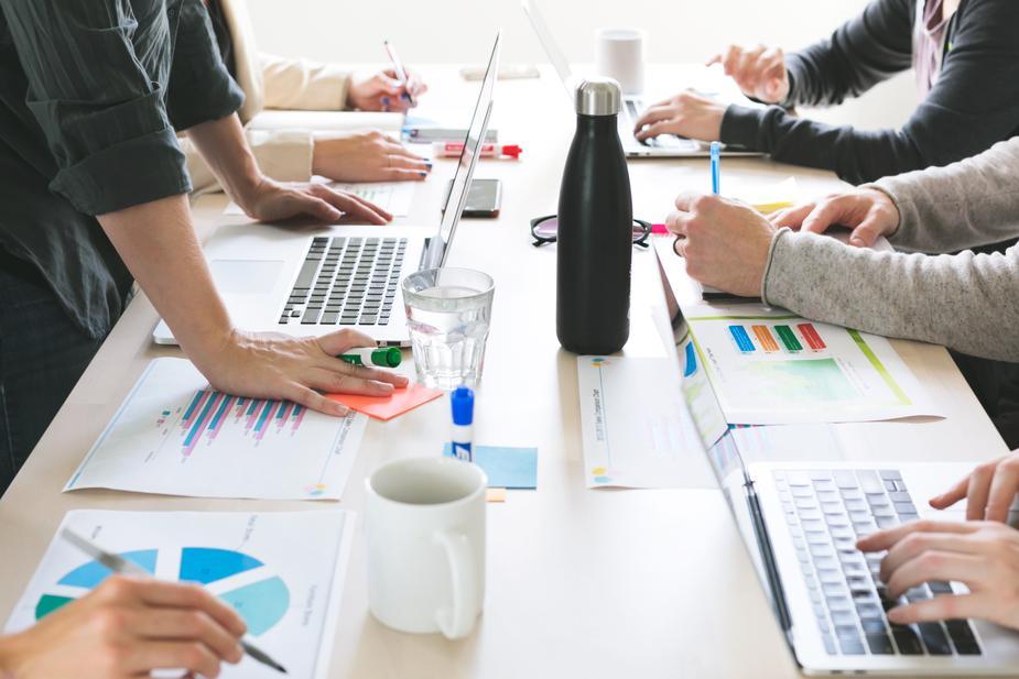 Entreprise qui organise une transformation numérique